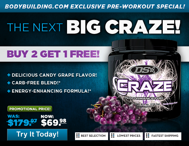 driven sports  craze  buy 2 get one free  limited time