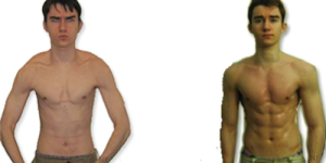 Me Before & After P90X (2009-2010)