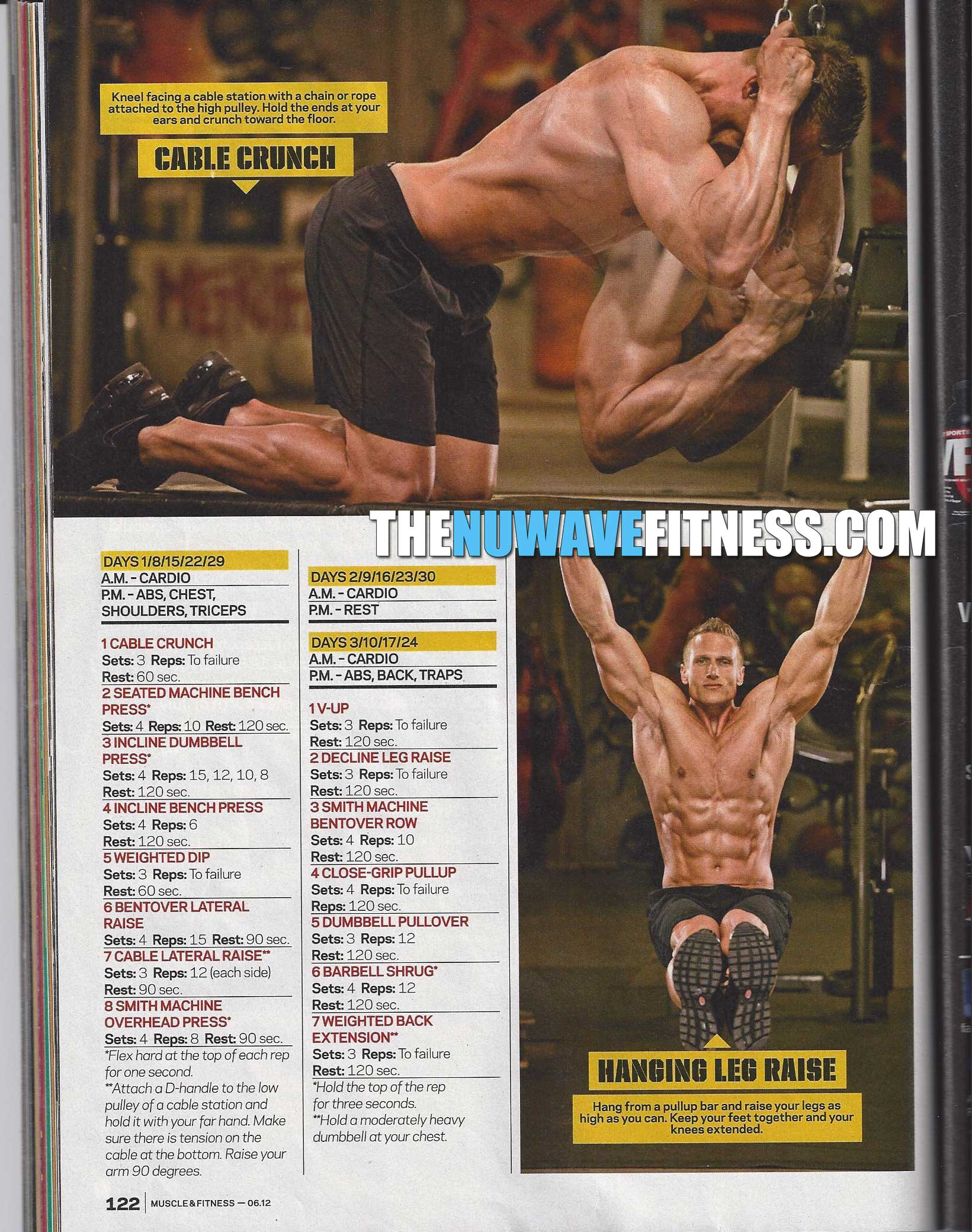 Ripped Abs In 30 Days Nuwave Fitness