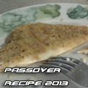 passover recipe 2013 matzo breaded fish