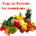 Top 10 foods to help maintain your weight