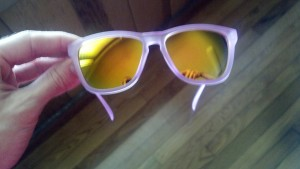 nectar amethyst sunglasses out of case