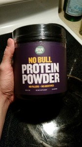 no bull protein powder